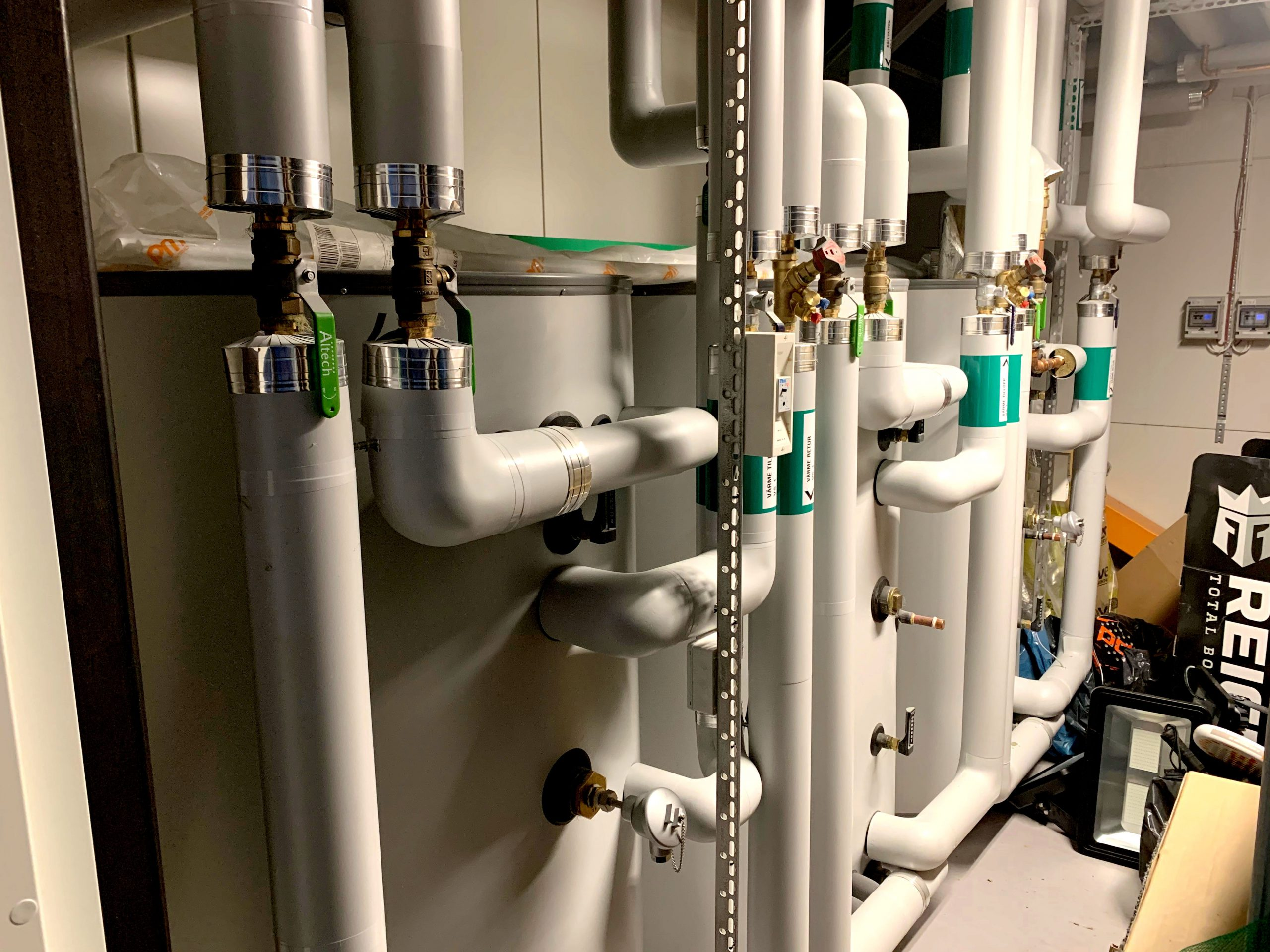 kylanläggning kyla värme padelcenter mölnlycke